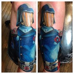 Cobra commander tattoo